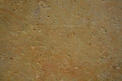 Ocre beige poli plat de Brown de grès de marbre de pierre de surface de texture de fond de photo naturelle d'actions Photographie stock libre de droits