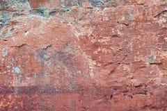 Ocre en la pared vieja Imagen de archivo libre de regalías