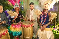 African Party Royalty Free Stock Images