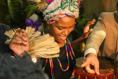 African Party Royalty Free Stock Photo