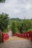 OCT East Shenzhen Meisha tea valley wetlands Bald Bridge Stock Photos