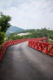 OCT East Shenzhen Meisha tea valley wetlands Bald Bridge Stock Photography