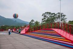 OCT East Shenzhen Meisha tea valley wetlands bridges Stock Photography