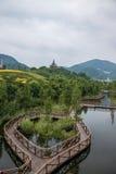 OCT East Shenzhen Meisha tea valley wetlands bridges Stock Photo