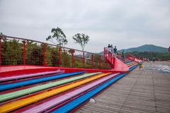 OCT East Shenzhen Meisha tea valley wetlands bridges Stock Images