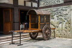 OCT East Shenzhen Meisha valley tea tea Dion show ancient town carriage Stock Photos