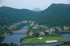 OCT East Shenzhen Meisha Wind Valley Golf Course Stock Image