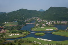 OCT East Shenzhen Meisha Wind Valley Golf Course Stock Photography