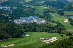 OCT East Shenzhen Meisha Wind Valley Golf Course Royalty Free Stock Images