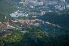 OCT East Shenzhen Meisha Wind Valley Golf Course Royalty Free Stock Photos