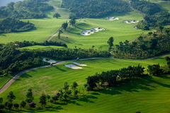OCT East Shenzhen Meisha Wind Valley Golf Course Stock Images