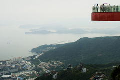OCT east viewing platform. In daxiagu dameisha shenzhen guangdong china asia Royalty Free Stock Images