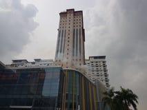 5 Oct 2016 Subang Jaya, Maleisië De Brandoefeningsoefening bij Tophotel Subang werd USJ gedaan vanochtend stock fotografie