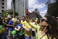 Oct van de Bolsonaro politieke verzameling 2018 royalty-vrije stock foto's