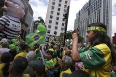 Oct van de Bolsonaro politieke verzameling 2018 stock fotografie