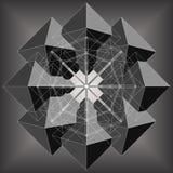 Octaëder acht maakt tot Achthoek Geometrische Vector Stock Fotografie