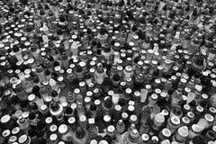 Octaaf van Alle Heiligen Artistiek kijk in zwart-wit Royalty-vrije Stock Foto's