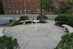 The Octagon. The Octagon, built in 1834, is a historic octagonal building and attached apartment block complex located at 888 Main Street on Roosevelt Island in Stock Photography