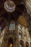 Octagon roof of Ely cathedral Royalty Free Stock Images