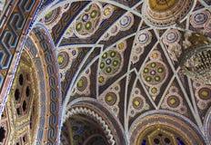 Octagon Room in Sammezzano Castle Stock Photo