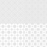Octagon seemless. L. Pattern gray color. Vector Stock Photography