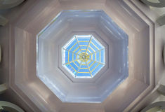 Octagon skylight Royalty Free Stock Photo