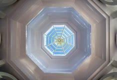 Octagon skylight Royalty Free Stock Photo