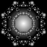 Octagonal abstraction Royalty Free Stock Image