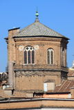 Octagonal dome of a medieval romanic church Royalty Free Stock Images
