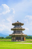 Octagonal Drum Tower ( A part of Kikuchi castle) Royalty Free Stock Photo