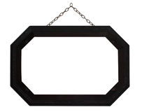 Octagonal Frame with Chain, Royalty Free Stock Photography