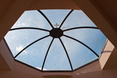 octagonal kupol Royaltyfri Bild