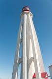 Octagonal lighthouse perspective Stock Photos