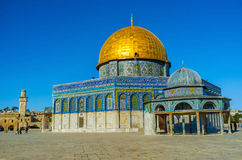 The octagonal mosque Royalty Free Stock Photography