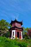 Octagonal Pagoda Stock Photo