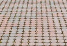 Octagonal paving stone pattern Royalty Free Stock Image