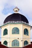 Building with dome. Octagonal shaped building with dome and turret in Worthing Sussex Royalty Free Stock Photo