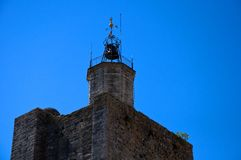 Octagonal tower Royalty Free Stock Image