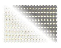 Octagons in background concept Royalty Free Stock Image