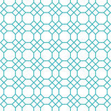 Octagons pattern vector Royalty Free Stock Photo