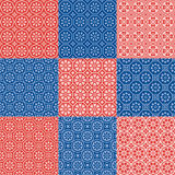 Octagons Patterns Royalty Free Stock Photos