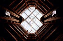 Octahedral arkitektur Arkivfoto