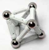 An octahedron. A octahedron on the studio table Royalty Free Stock Photos