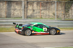 Octane 126 team Ferrari 458 Challenge Evo 2016 Royalty Free Stock Photos