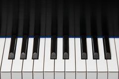 Octave de clavier de piano Images stock