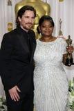 Octavia Spencer, Christian Bale Royalty Free Stock Image