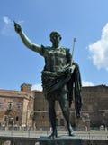 Octavian Augustus Caesar. Statue in Rome Stock Photography