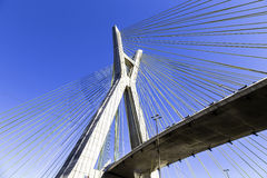 Octavio Frias Bridge in Sao Paulo, Brazil - Latin America Royalty Free Stock Photos