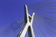 Octavio Frias Bridge in Sao Paulo, Brazil - Latin America Stock Photography