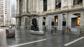 Octavius华伦泰卡托纪念品,香港大会堂, Philadephia 免版税图库摄影